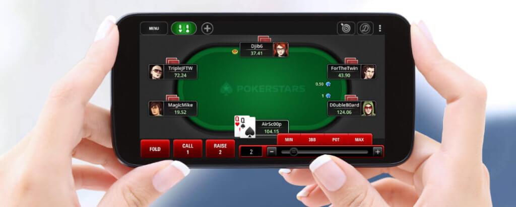 Aplicația Pokerstars pentru Mobil
